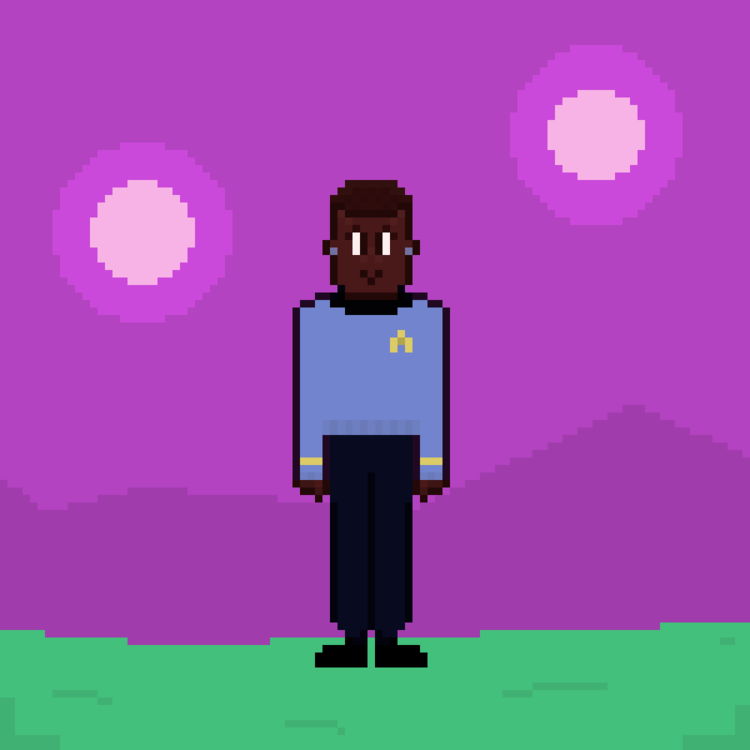 unnamed starfleet officer on a planet in a binary system during the tos era.png